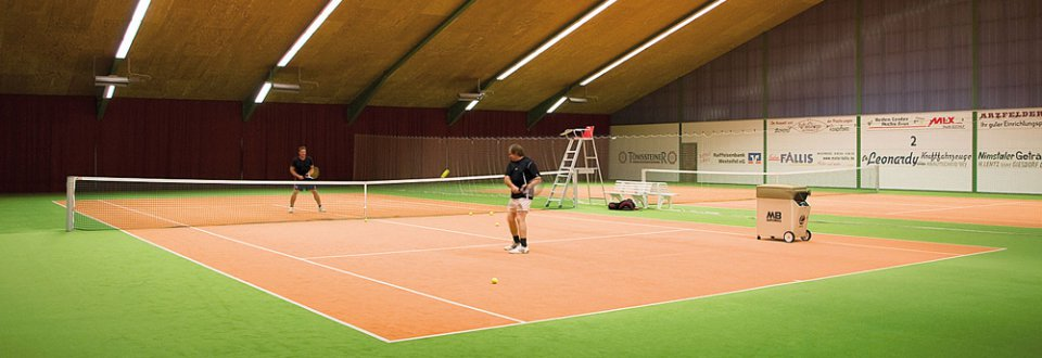 Tennishalle - Pension Islekhöhe Eifel